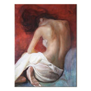 Back view of a Naked Woman Oil Painting Canvas Oil Painting