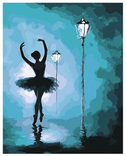 Ballet Dancer DIY Painting By Numbers DIY