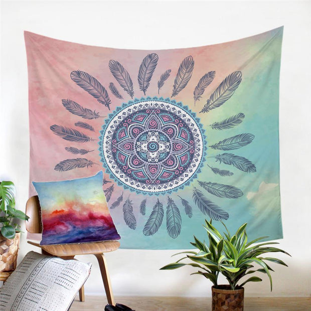 Bohemian Dreamcatcher Tapestry Tapestry