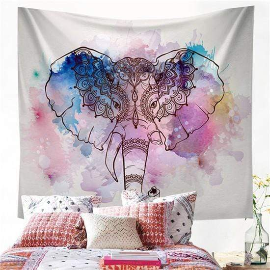 Bohemian Elephant Tapestry 5 Tapestry