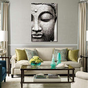 Buddha Flower Canvas Print Canvas