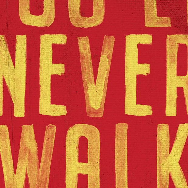 "Canvas Print of ""You'll Never Walk Alone"" Liverpool FC Motto Canvas"