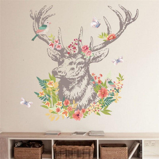 "Dear Head Wall Sticker For Home Decor 40""x32"" Wall Sticker"