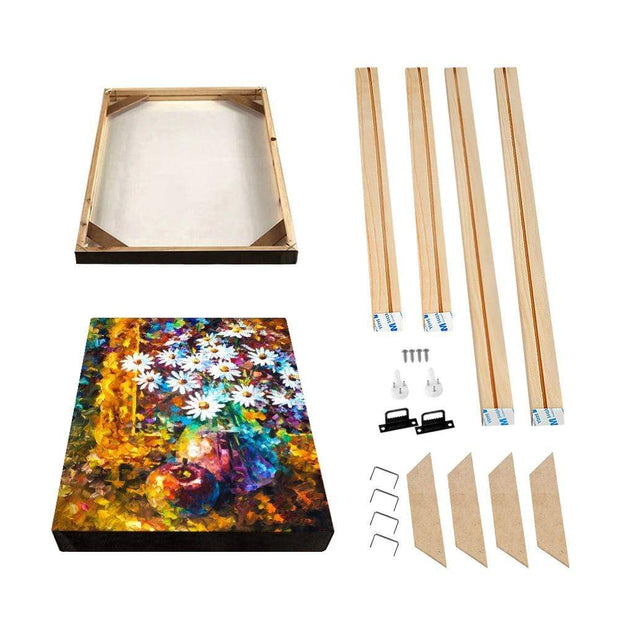 Easiest DIY Wooden Frame For Oil Paintings, Canvas Posters and Prints