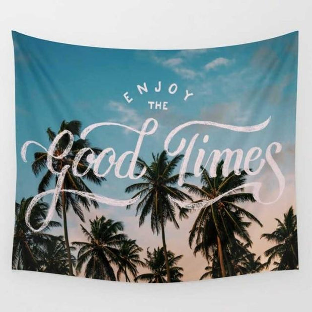 Good Times Wall Tapestry Tapestry