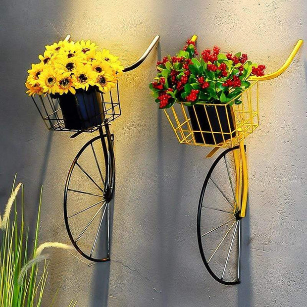 Hanging Metal Bicycle Head for Wall Decoration Accessories