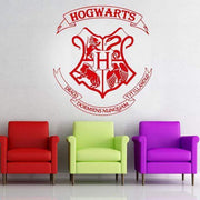"Harry Potter Hogwarts Crest Wall Sticker Red / 16""x18"" Wall Sticker"