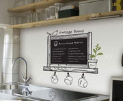 "Kitchen Waterproof Chalkboard Wall Sticker 24""x26"" Wall Sticker"