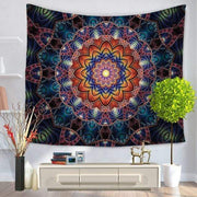 Large Mandala Indian Tapestry 1 / 150x130 Tapestry