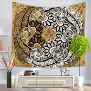 Large Mandala Indian Tapestry 3 / 150x130 Tapestry