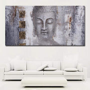 Large Size Abstract Buddha Painting On Canvas canvas