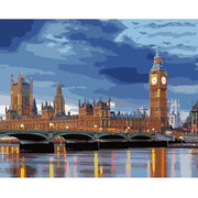 London Bridge DIY Painting By Numbers DIY
