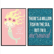 Magical Mermaid Posters Print