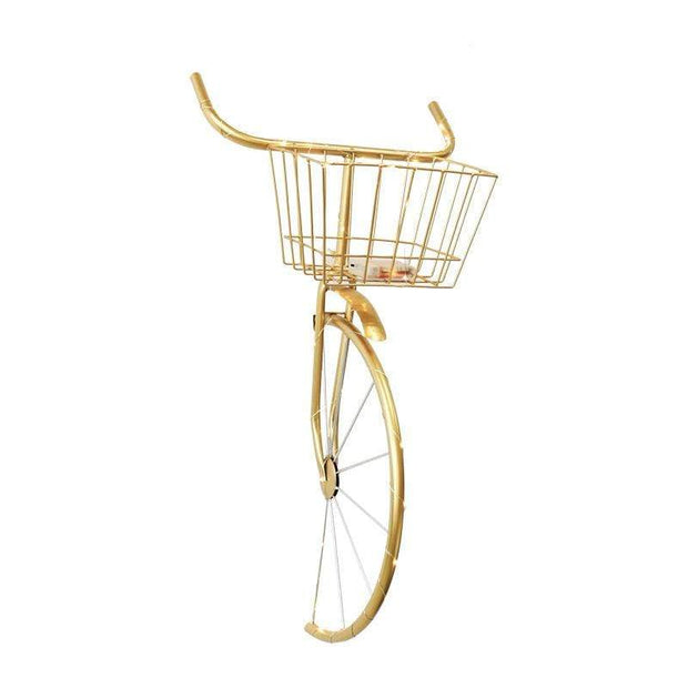 Metal Hanging Bicycle Head for Wall Decoration Accessories