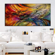 Modern Colorful Abstract Canvas Print Canvas