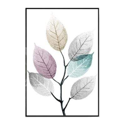 Multi-Color Leaves Canvas Prints 15x20 cm no frame / 01 Canvas