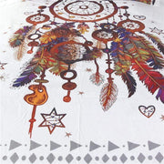 Multicolored Feathers Dreamcatcher Tapestry Tapestry
