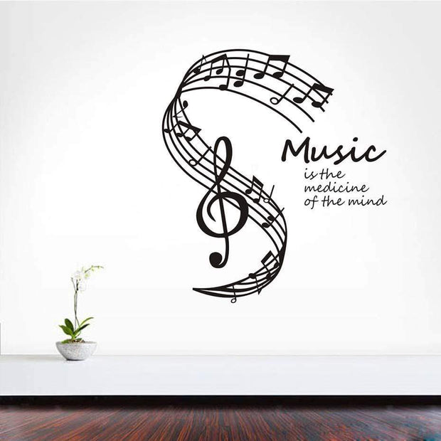 Music Quote Wall Sticker Wall Sticker