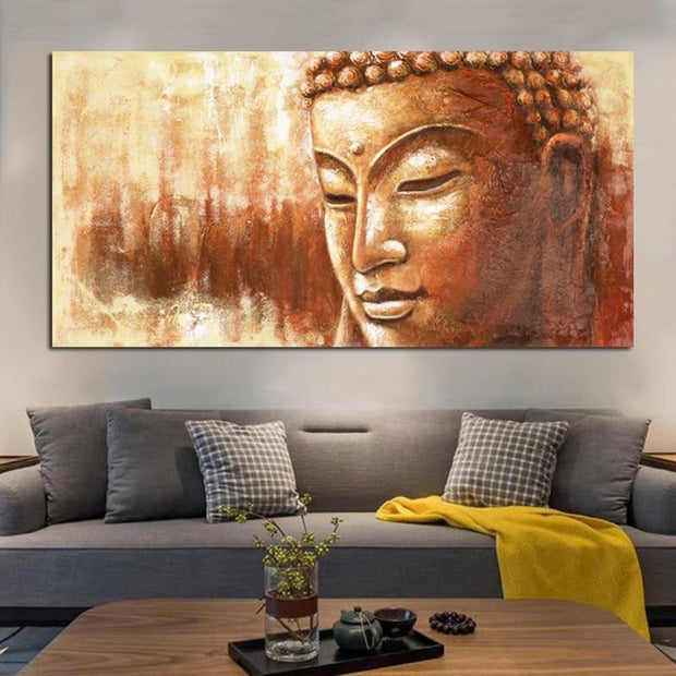 Noble Buddha Canvas Poster Canvas