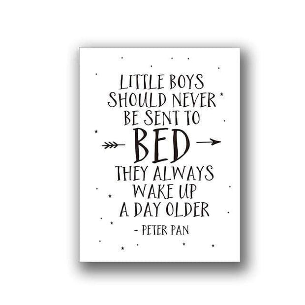 "Quotes for Kids Canvas Prints 8""x10"" / pattern 2 Canvas"