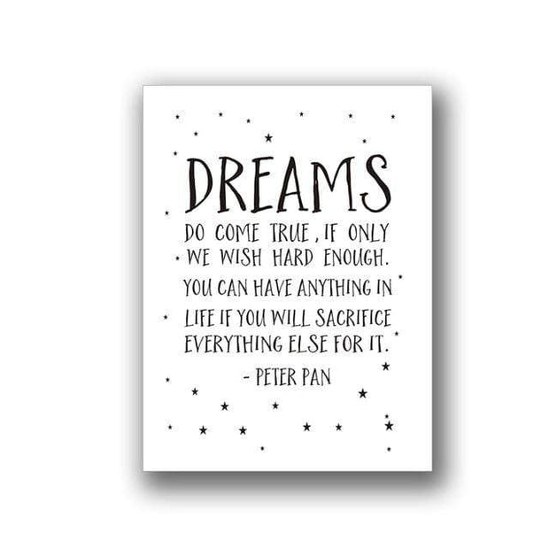 "Quotes for Kids Canvas Prints 8""x10"" / pattern 3 Canvas"
