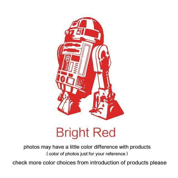 "R2 D2 Wall Sticker Red / 34""x23"" Wall Sticker"