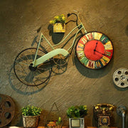 Retro Bike Wall Clock 1 Accessories