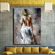 Sensual Woman Figure Oil Painting Oil Painting
