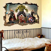 "Superheroes - Avengers & The Hulk Wall Sticker 20""x28"" Wall Sticker"