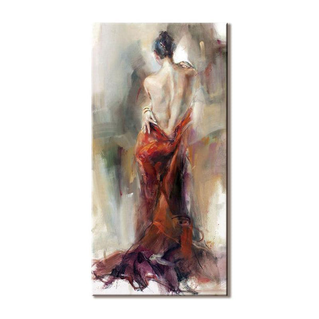 The Figures of Passionate Women Oil Painting on Canvas Oil Painting