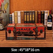 "Vintage Suitcase Shelves For Wall Decor Garage (18""x7.2""x6.4"") Accessories"