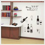 "Wine Cabinet Kitchen Wall Sticker 28""x56"" Wall Sticker"