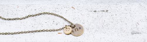 BFLO necklace with charm