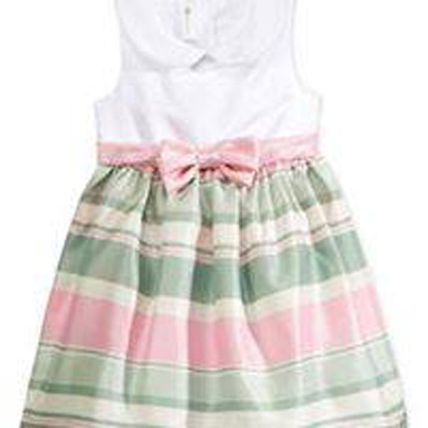 10fd1747368 Bonnie Jean Embroidered-Collar Trapeze Dress, Baby Girls – Errit ...