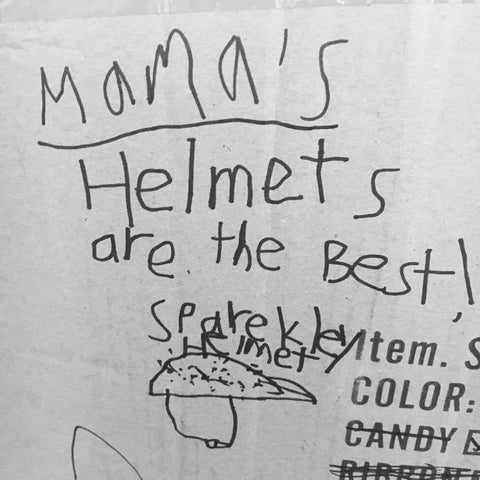 mama's helmets are the best!