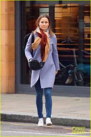 Pippa Middleton carrying Sawako helmet in London