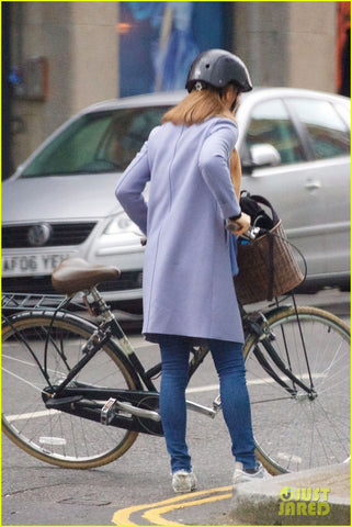 pippa middleton carrying a sawako crocodile helmet in London