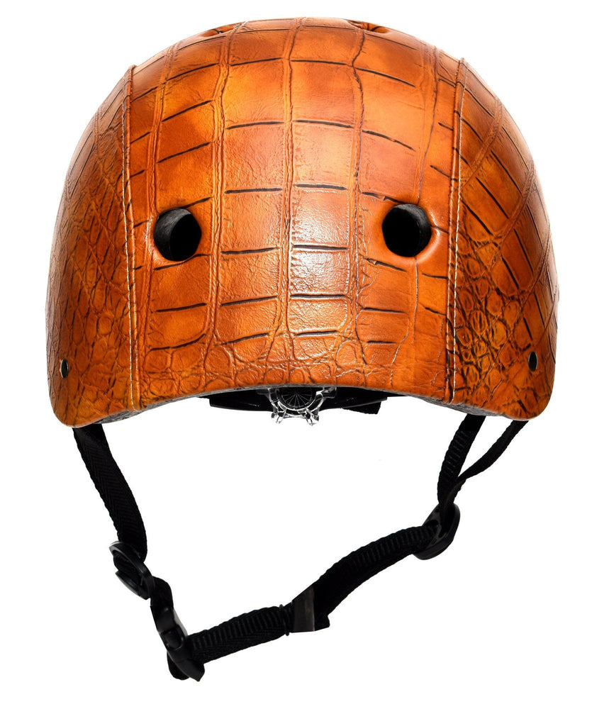 Crocodile brown Helmet