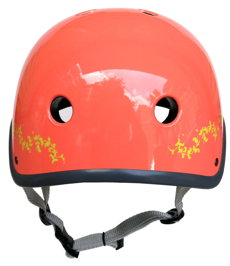 Sawako orange coral eyecandy bike helmet