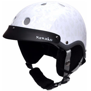 Ski snowboard helmet madison white