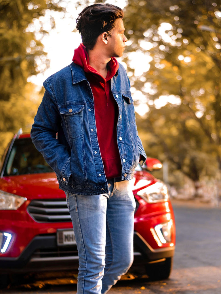 How to Wear a Denim Jacket For Men