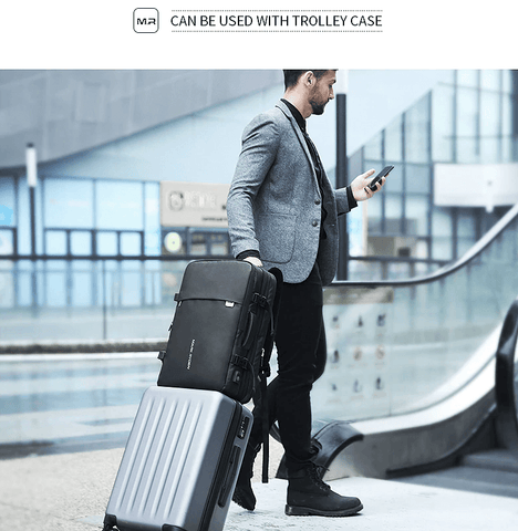 Backpack Anti Theft Fit 17 Inch | USB Charging | Travel Male Bag DepotClick