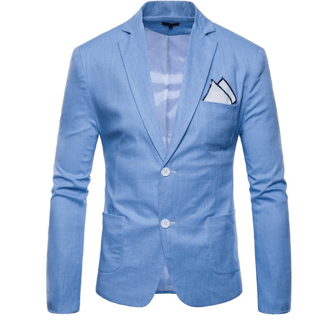 Blazers Slim Fit | 8  Solid Colors-DepotClick