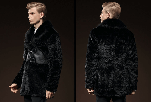 Coat Black | Imitation Mink | Slim DepotClick