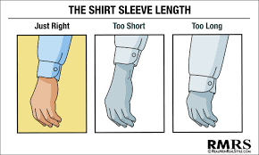 Dress Shirt Sleeve Length Blog DepotClick