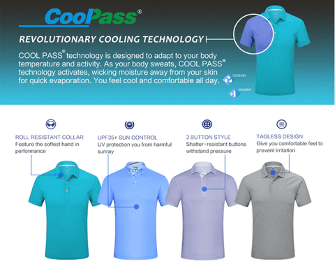 Golf Polo Shirt | Quick Dry | Short Sleeve DepotClick