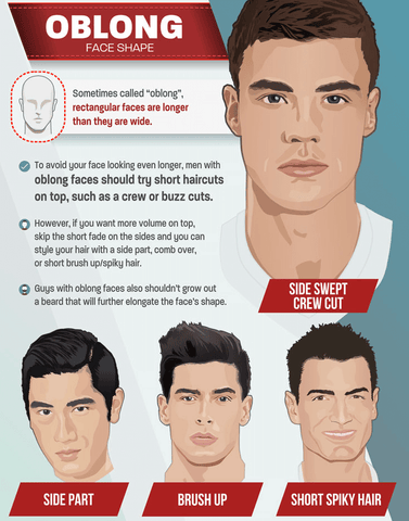 Oblong Face Shape Blog DepotClick