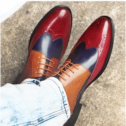 Oxford Shoes | Bi - Tri Color DepotClick