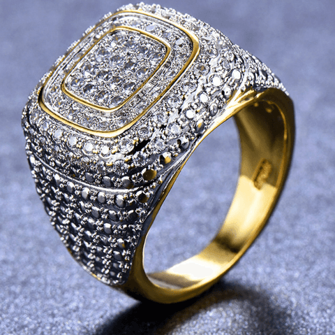 Ring 14KT | Gold Big Stone-DepotClick