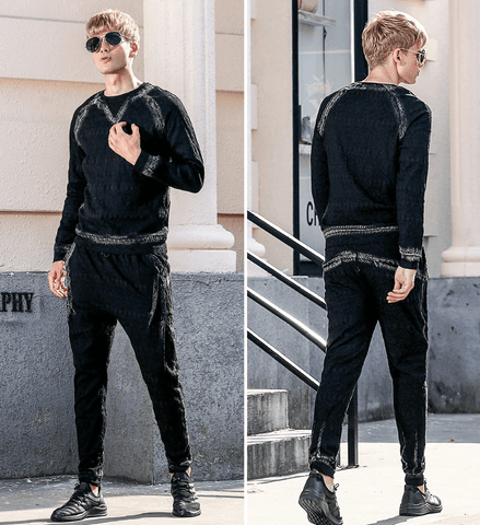 Set Fashion|T Shirt-Pants|Black DepotClick